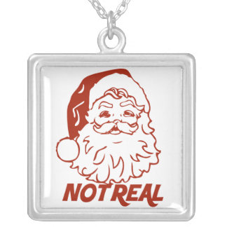 Bah Humbug ruin it for everyone Square Pendant Necklace