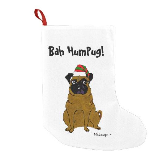 Bah HumPug Christmas Stocking
