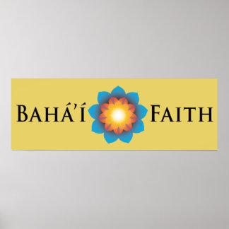Bahá í Faith Posters
