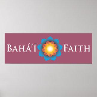 Bahá í Faith Poster