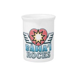 Baha'i Rocks Pitcher