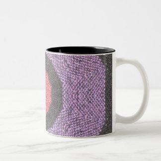 Baha Kaleidoscope Two-Tone Mug