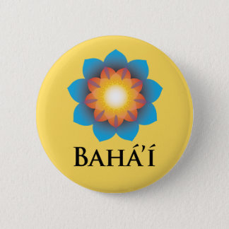 Bahá'í 6 Cm Round Badge