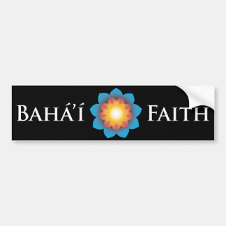 Bahá'í Faith Bumper Sticker