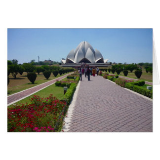 bahai lotus path card