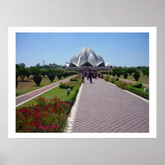 bahai lotus path posters
