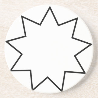 Bahai  Symbol Coaster