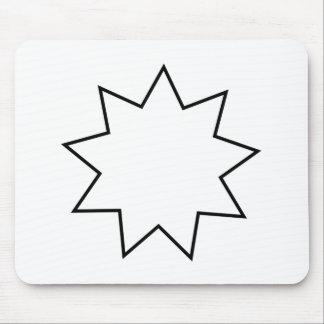 Bahai  Symbol Mouse Pad