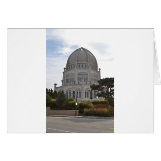 Bahai Temple in Wilmette,IL Card