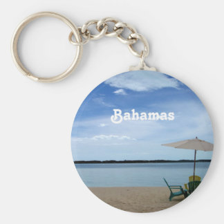 Bahama Beach Key Ring