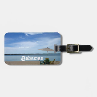Bahama Beach Luggage Tag