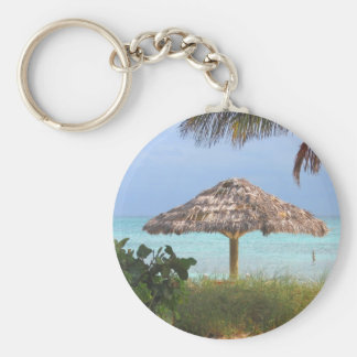 Bahama Beach Paradise Key Ring