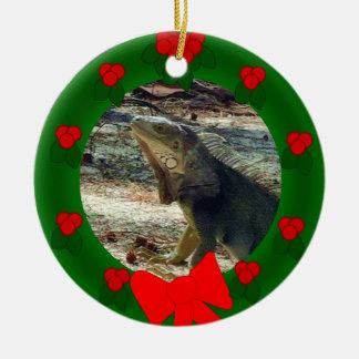 Bahama Iguana Dated Ornament