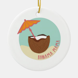 Bahama Mama Christmas Ornament