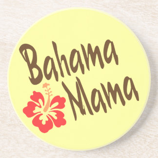 Bahama Mama with hibiscus Coaster
