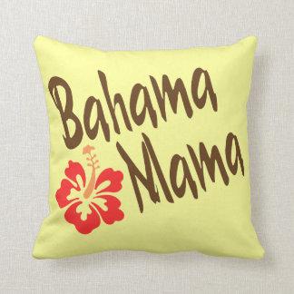 Bahama Mama with hibiscus Cushion