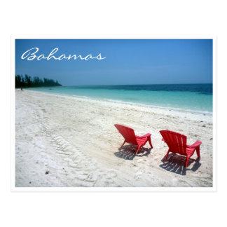 bahama seats postcard