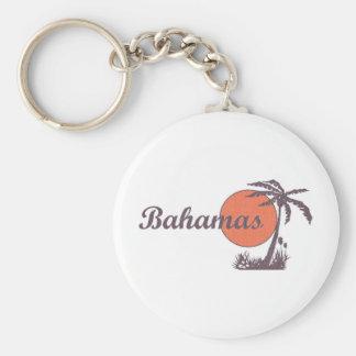 Bahama Worn Key Ring
