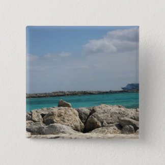 Bahamas 15 Cm Square Badge