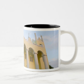 BAHAMAS, Abacos, Great Abaco Island, Marsh Two-Tone Coffee Mug