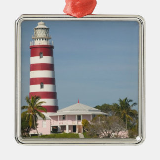 BAHAMAS, Abacos, Loyalist Cays, Elbow Cay, Hope Silver-Colored Square Decoration