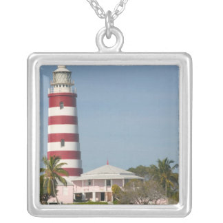 BAHAMAS, Abacos, Loyalist Cays, Elbow Cay, Hope Silver Plated Necklace