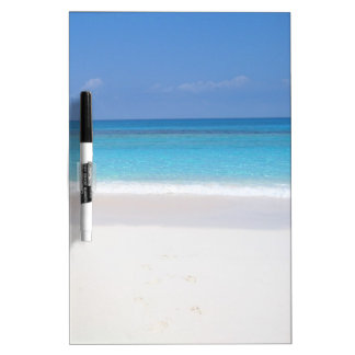 Bahamas beach dry erase board