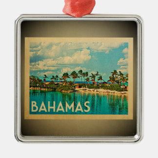 Bahamas Caribbean Ornament Vintage Travel