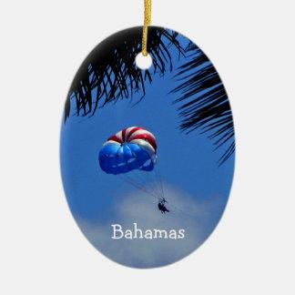 Bahamas Ceramic Oval Decoration