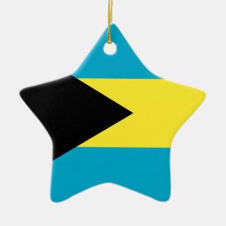 Bahamas Ceramic Star Decoration