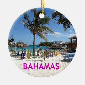 Bahamas Christmas Ornament