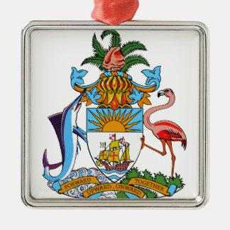 Bahamas Coat of Arms Christmas Ornament