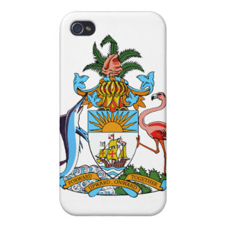 Bahamas Coat Of Arms Cover For iPhone 4