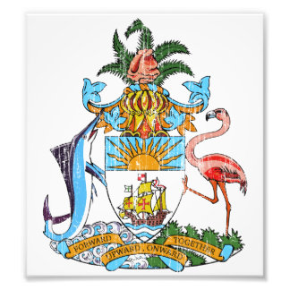 Bahamas Coat Of Arms Photo Art
