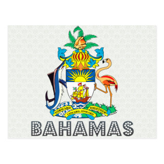 Bahamas Coat of Arms Postcard