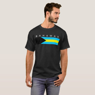 Bahamas country flag symbol long T-Shirt