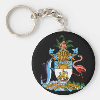 bahamas emblem key ring