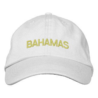 BAHAMAS embroidered Embroidered Hat