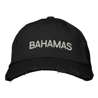 BAHAMAS (EMBROIDERED) EMBROIDERED HAT