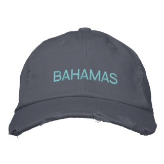 BAHAMAS EMBROIDERED HAT