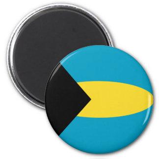 Bahamas Fisheye Flag Magnet