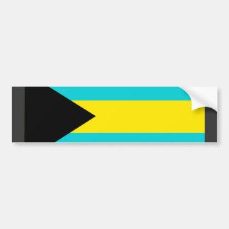 Bahamas Flag Bumper Sticker