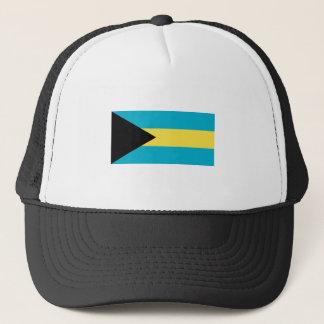 Bahamas FLAG International Trucker Hat