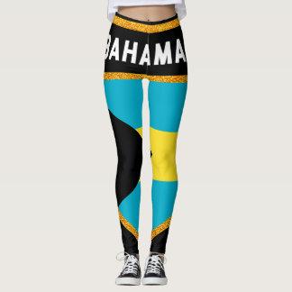 Bahamas Flag Leggings