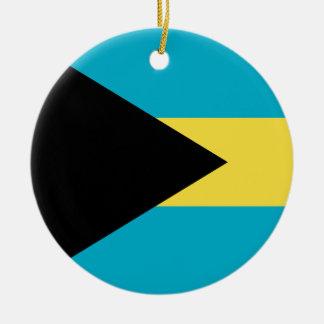 Bahamas Flag Ornament