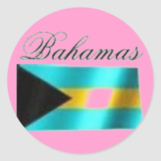 Bahamas Flag T-shirt And Etc Stickers