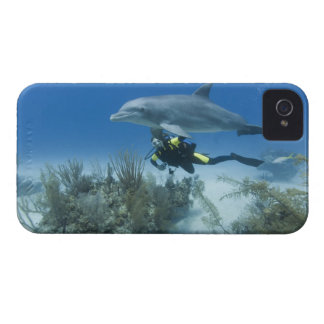 Bahamas, Grand Bahama Island, Freeport, Scuba Case-Mate iPhone 4 Case