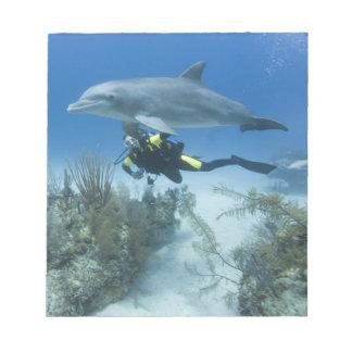 Bahamas, Grand Bahama Island, Freeport, Scuba Notepad