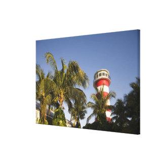 Bahamas, Grand Bahama Island, Freeport, Setting Canvas Print