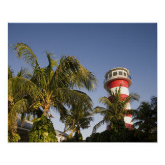 Bahamas, Grand Bahama Island, Freeport, Setting Poster